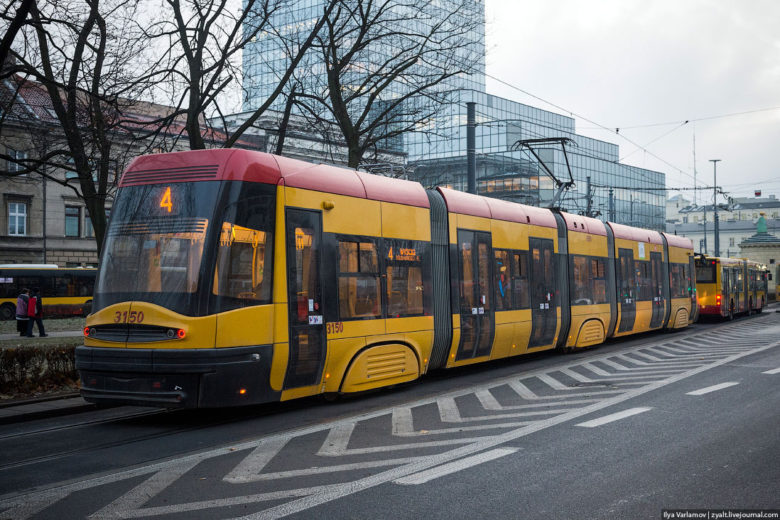 Транспорт в варшаве и польше