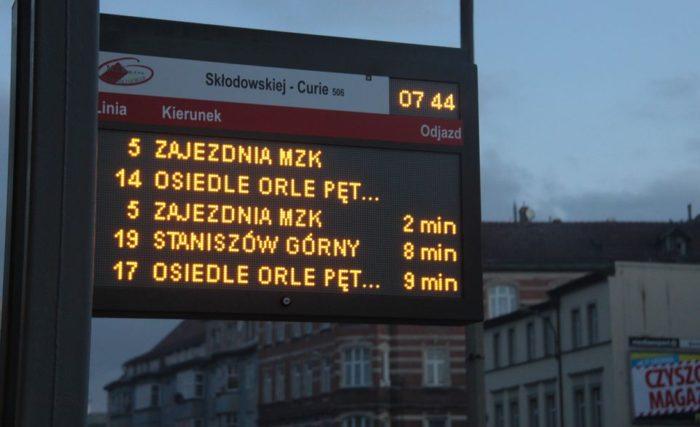 Расписание на остановках