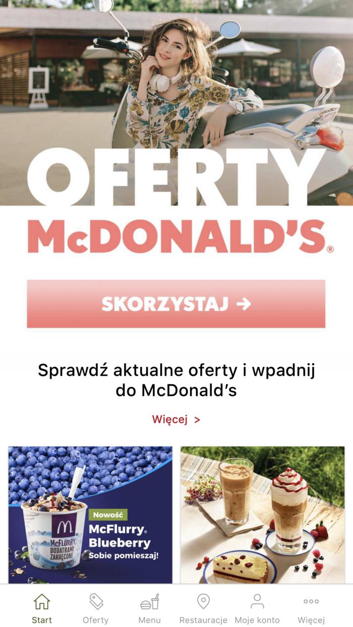mcDonalds купоны в варшаве лешего поесть в польше 3