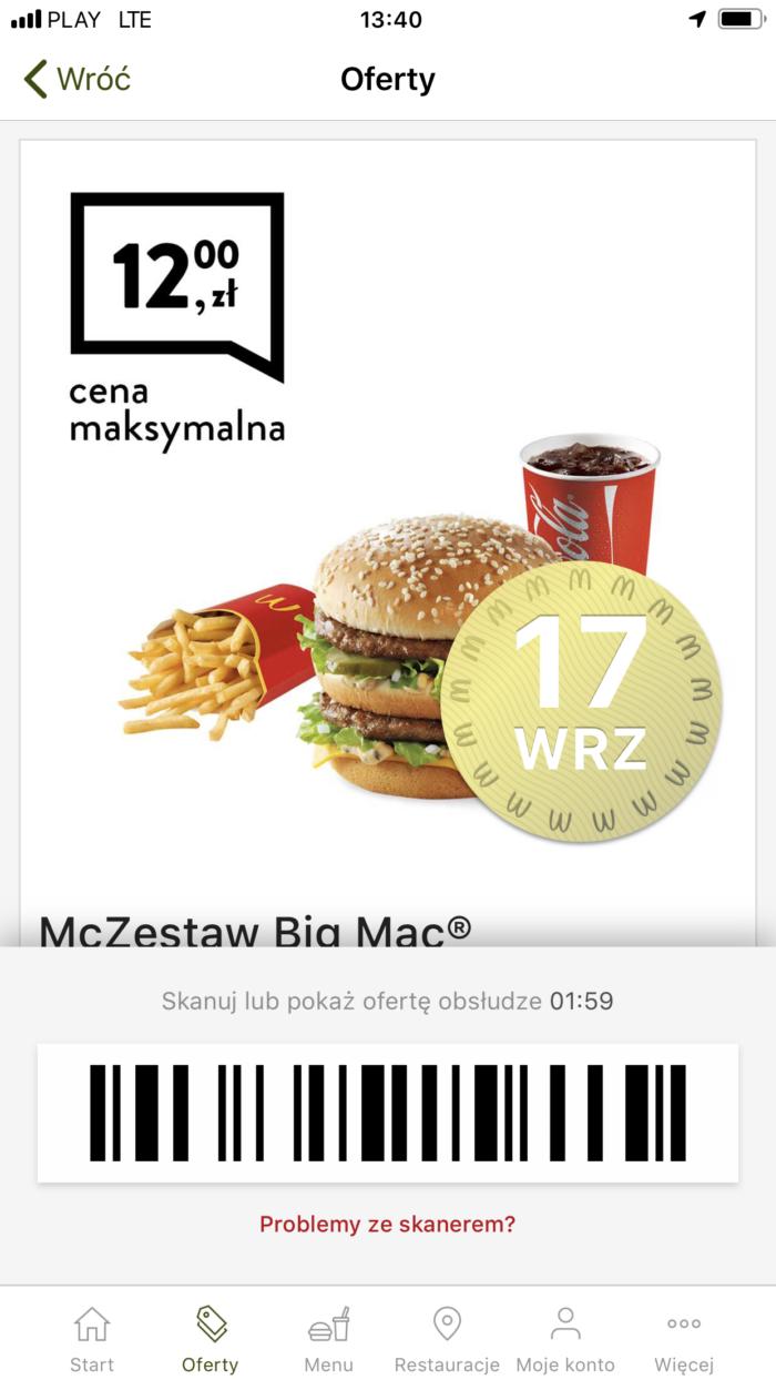 mcDonalds купоны в варшаве лешего поесть в польше