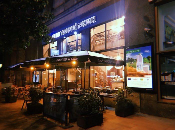 Кафе в варшаве кофе Green Cafe Nero