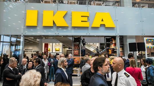 Икеа открывается в Blue City новый магазин в Польше