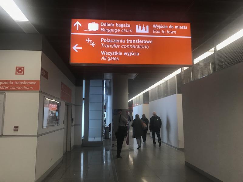 Как доехать до центра Варшавы из аэропорта Шопена 1