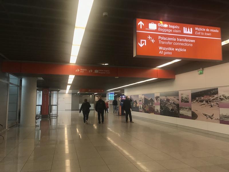 Как доехать до центра Варшавы из аэропорта Шопена 2