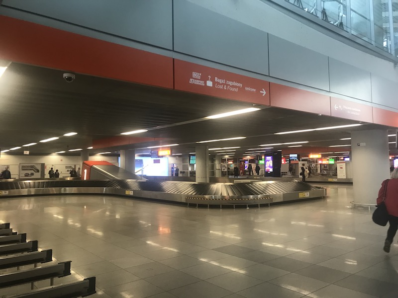 Как доехать до центра Варшавы из аэропорта Шопена 3