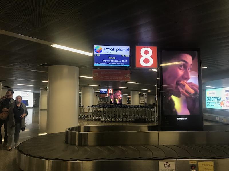 Как доехать до центра Варшавы из аэропорта Шопена 4