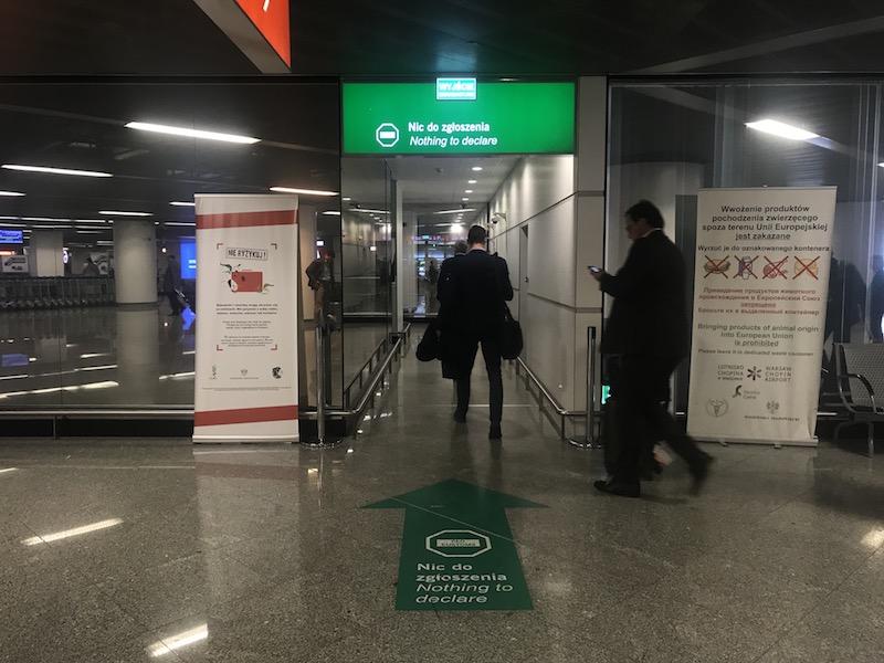 Как доехать до центра Варшавы из аэропорта Шопена 5