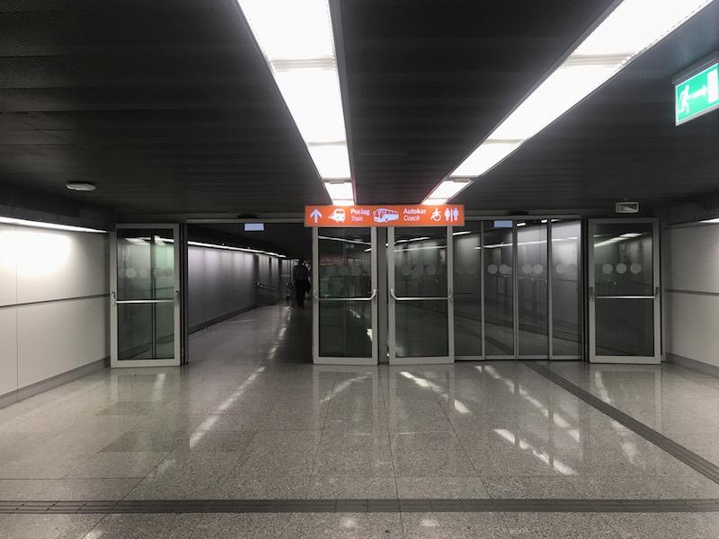 Как доехать до центра Варшавы из аэропорта Шопена 7