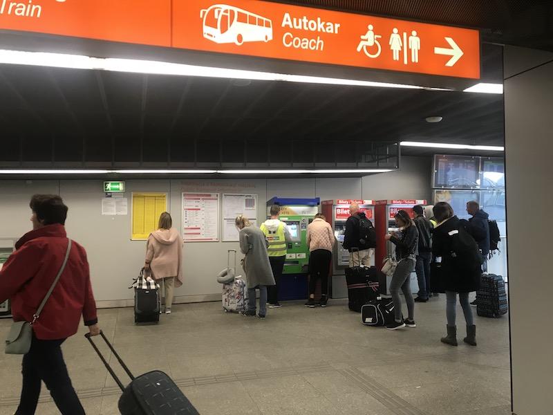 Как доехать до центра Варшавы из аэропорта Шопена 8