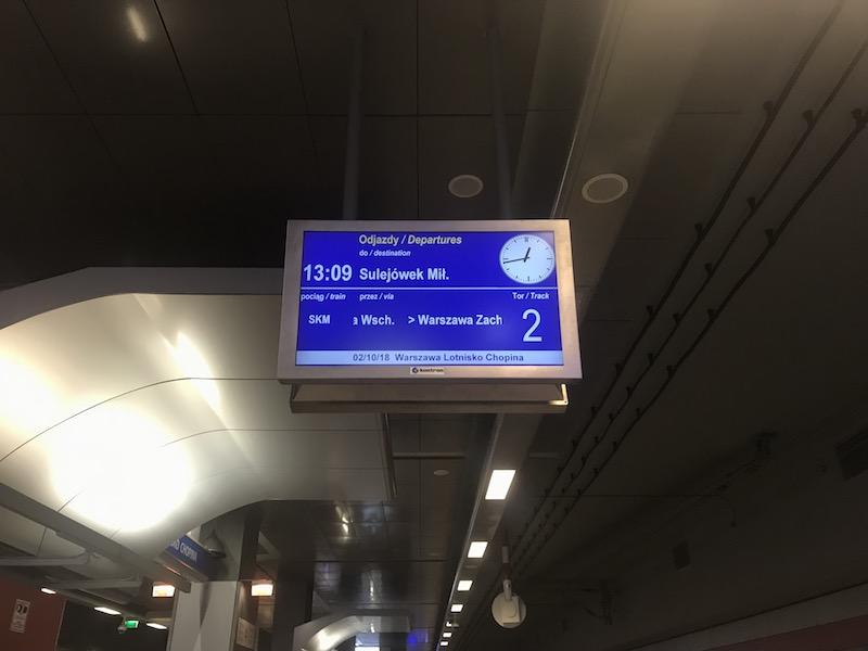 Как доехать до центра Варшавы из аэропорта Шопена 10