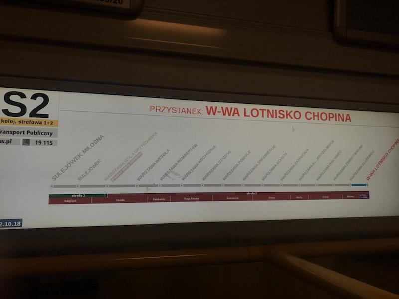 Как доехать до центра Варшавы из аэропорта Шопена 13