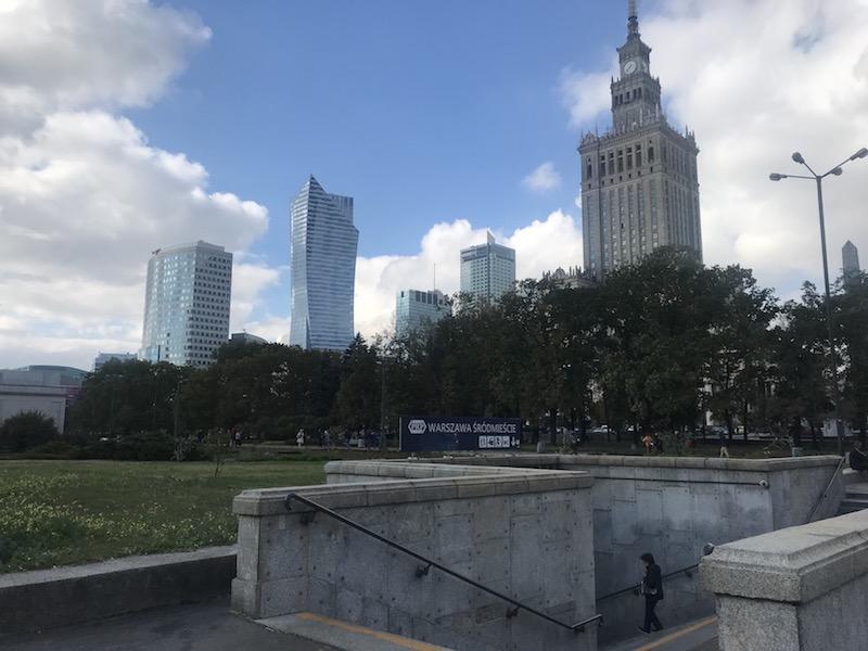 Как доехать до центра Варшавы из аэропорта Шопена 14