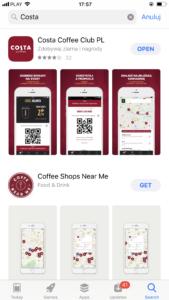 Скачать приложение Costa Coffee Club