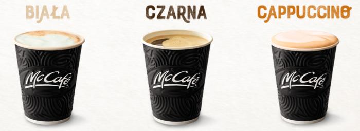 чёрный кофе белый и капучино в макдональдс бесплатно