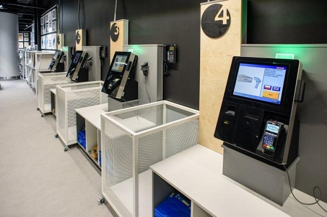 Кассы самообслуживания и киоски в IKEA