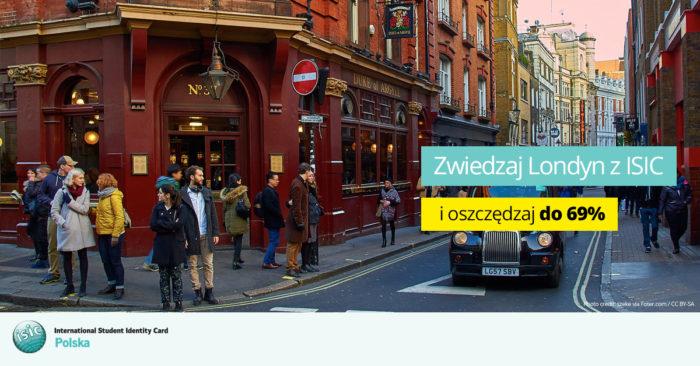 isic zniżki - скидки для студентов по карте isic лондон