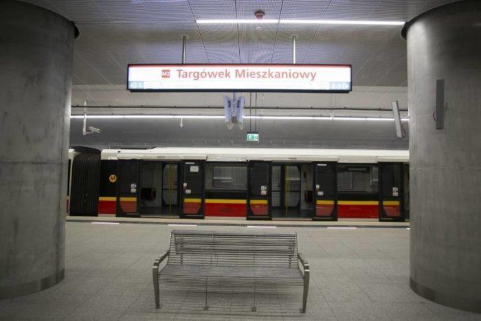 новые станции метро Варшава