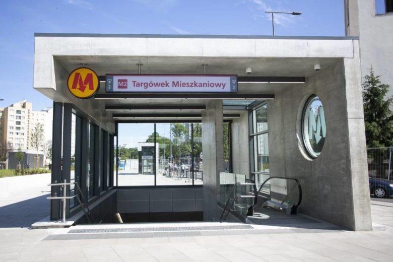 Открытие новых станций метро второй линии в Варшаве и бесплатные поездки